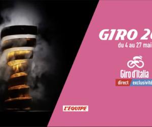 TV – La chaîne L'Equipe couvre le Giro 2018 avec plus de cinq heures de direct par jour
