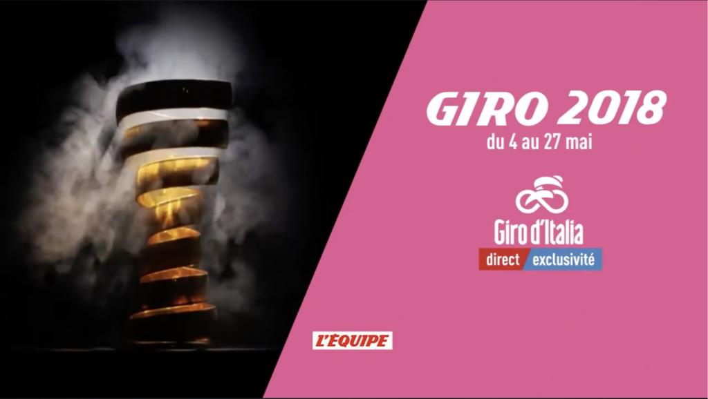 Dispositif Giro L'Equipe