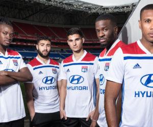 adidas dévoile les nouveaux maillots de l'Olympique Lyonnais pour la saison 2018-2019