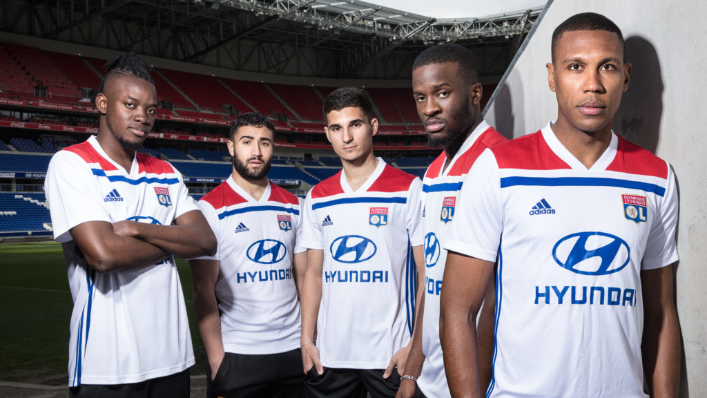 Maillot OL nouvelle