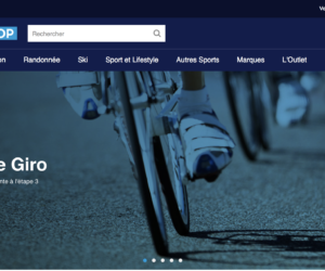 Eurosport lance Eurosport Shop, sa plateforme de e-commerce d'accessoires sportifs