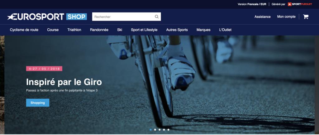 Eurosport se lance dans le e-commerce