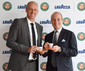 Lavazza renouvelle son partenariat avec la FFT et Roland-Garros jusqu'en 2019