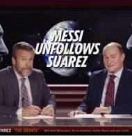 Gatorade met en scène un clash Lionel Messi / Luis Suarez dans sa dernière publicité