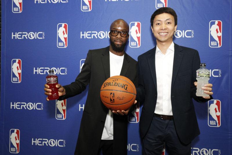 Heroic Sports partenaire NBA 3