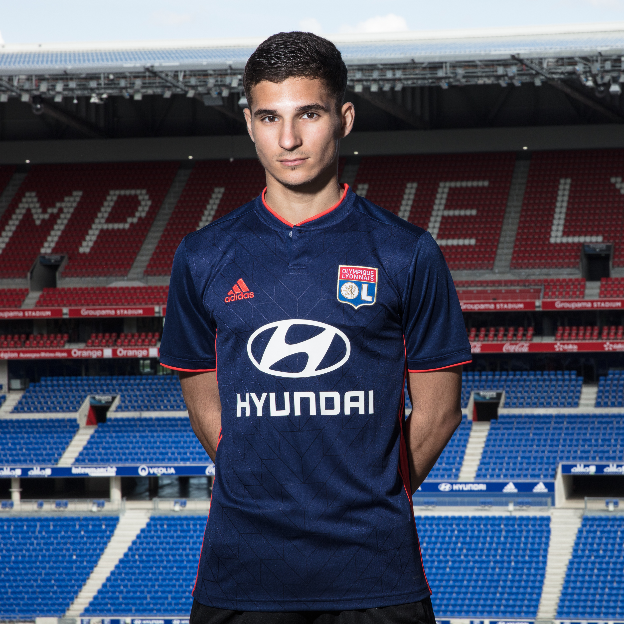 Maillot Domicile Olympique Lyonnais Houssem AOUAR
