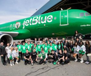NBA – La compagnie JetBlue met un Airbus A320 aux couleurs des Boston Celtics