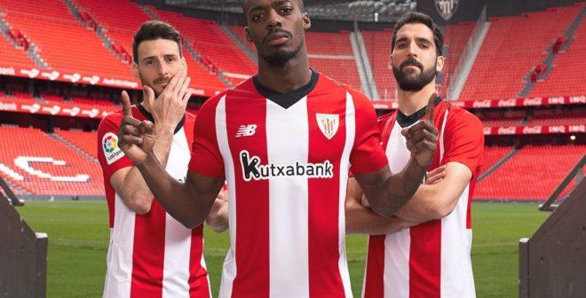 Le nouveau maillot domicile de l'Athletic Bilbao dévoilé par New Balance