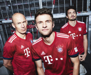 adidas dévoile le nouveau maillot domicile du Bayern Munich pour la saison 2018-2019