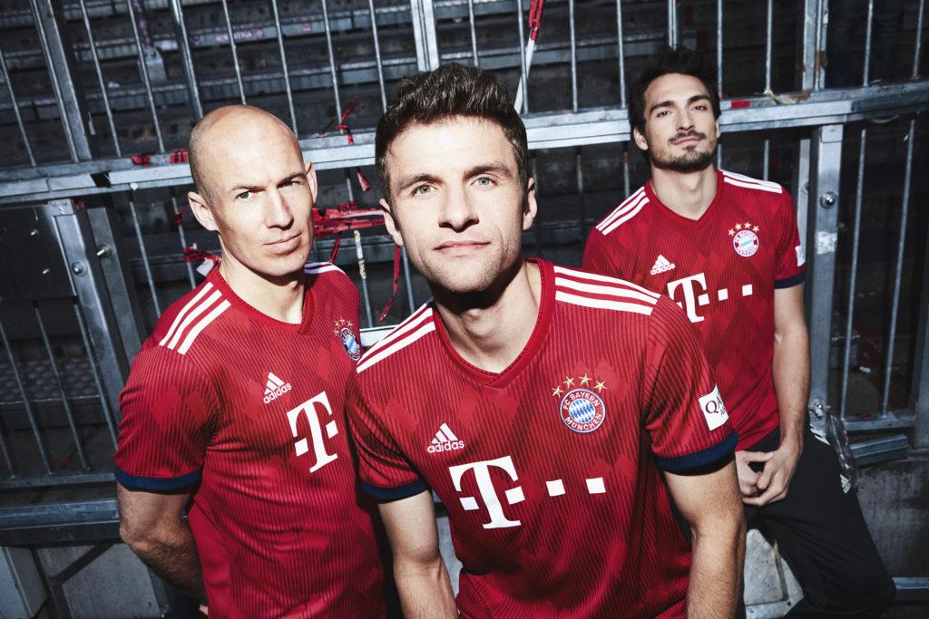 Nouveau maillot domicile Bayern Munich