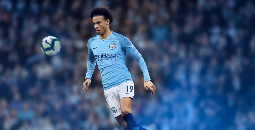 Nouveau maillot domicile Manchester City
