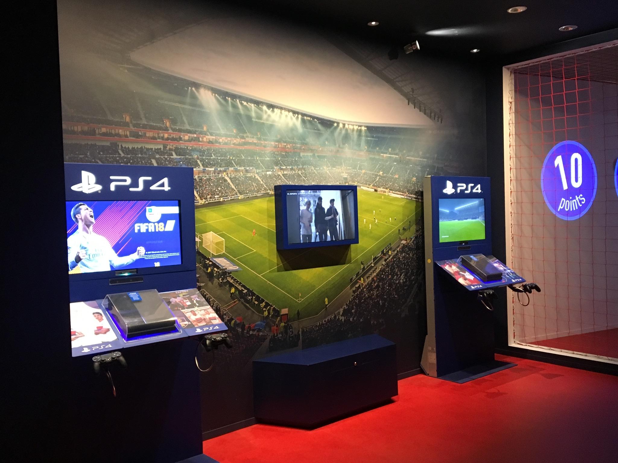 PS4 Musée OL