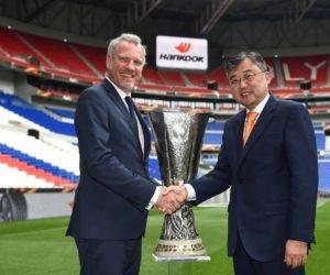 Hankook prolonge son partenariat avec l'UEFA Europa League pour trois saisons