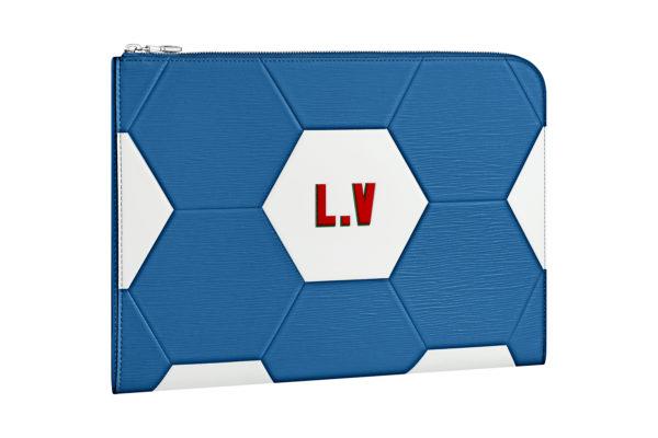 Petite maroquinerie bleue Louis Vuitton Coupe du Monde 3