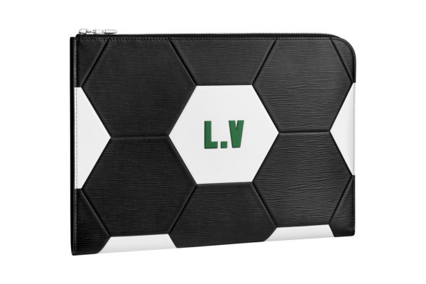 Petite maroquinerie noire Louis Vuitton Coupe du Monde 3