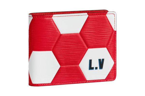 Petite maroquinerie rouge Louis Vuitton Coupe du Monde 2
