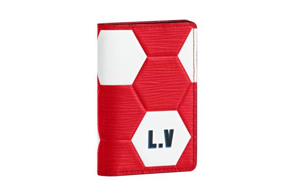 Petite maroquinerie rouge Louis Vuitton Coupe du Monde 4