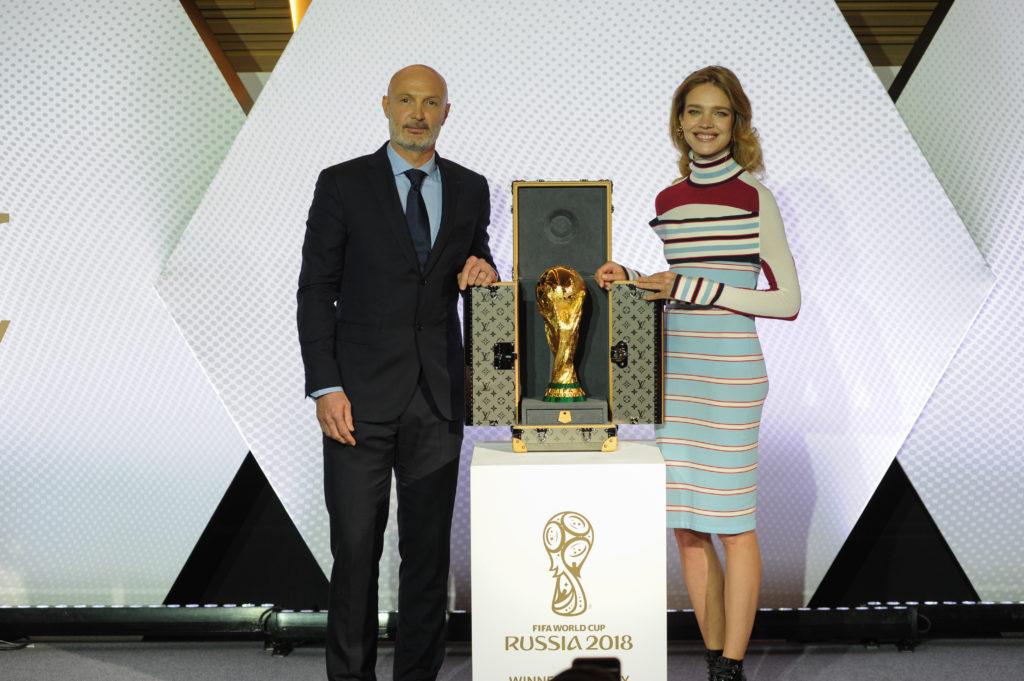Présentation Malle Louis Vuitton Coupe du Monde