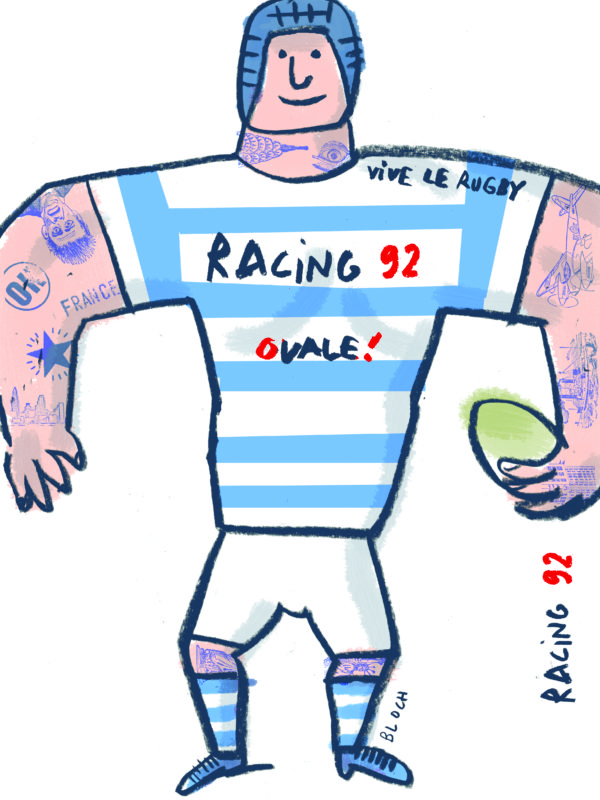 Racing 92 affiche TOP14