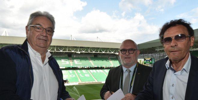 L'ASSE change de sponsor sur la face avant de son maillot pour 2018-2021 et accueille le Groupe Aesio