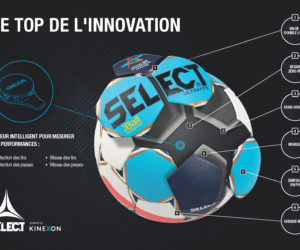 La Champions League de Handball enrichit l'expérience des Fans avec l'utilisation d'un ballon connecté conçu par Select et Kinexon