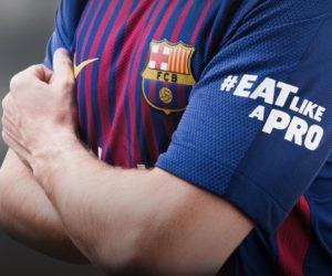 Pour le clasico contre le Real Madrid, le FC Barcelone arborera un flocage #EatLikeAPro en remplacement de Beko