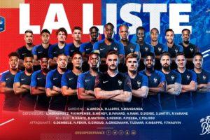 Nike place 13 joueurs dans la liste des 23 de Didier Deschamps pour la Coupe du Monde 2018