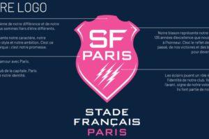 Rugby – Le Stade Français Paris dévoile son nouveau logo, point de départ de sa (R)évolution