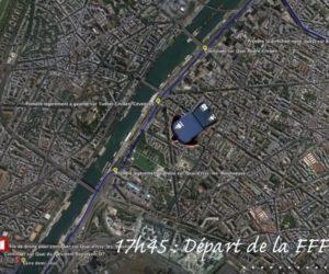 Le parcours de la clé USB contenant la liste des 23 de Didier Deschamps mis en scène par la FFF