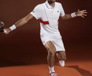 Les tenues Lacoste pour Roland-Garros 2018 (dont celles de Novak Djokovic)