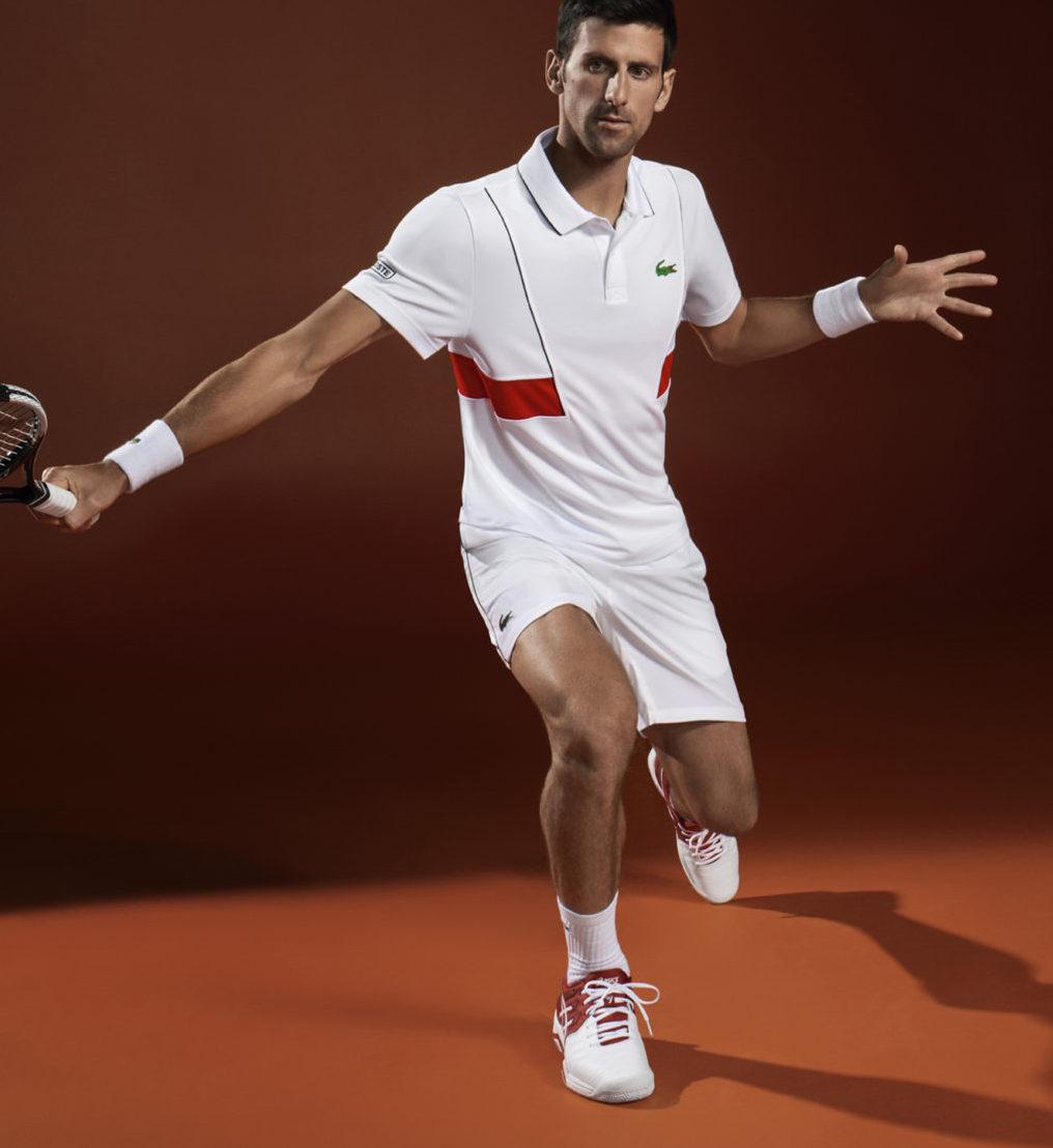 Les tenues Lacoste pour Roland-Garros 2018 (dont celles de Novak ... e7ab3ffd87e
