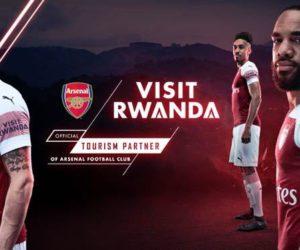 Le Rwanda nouveau sponsor maillot manche d'Arsenal
