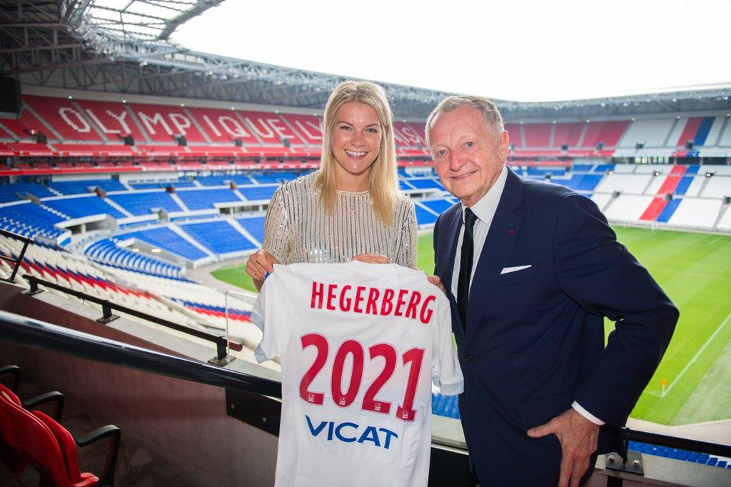 Ada Hegerberg prolonge à l'OL