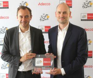 Le Tour de France engage Adecco en tant que recruteur officiel