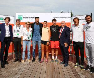 BNB Paribas va accompagner 20 jeunes joueurs de tennis avec un fonds d'1 million d'euros sur 3 ans