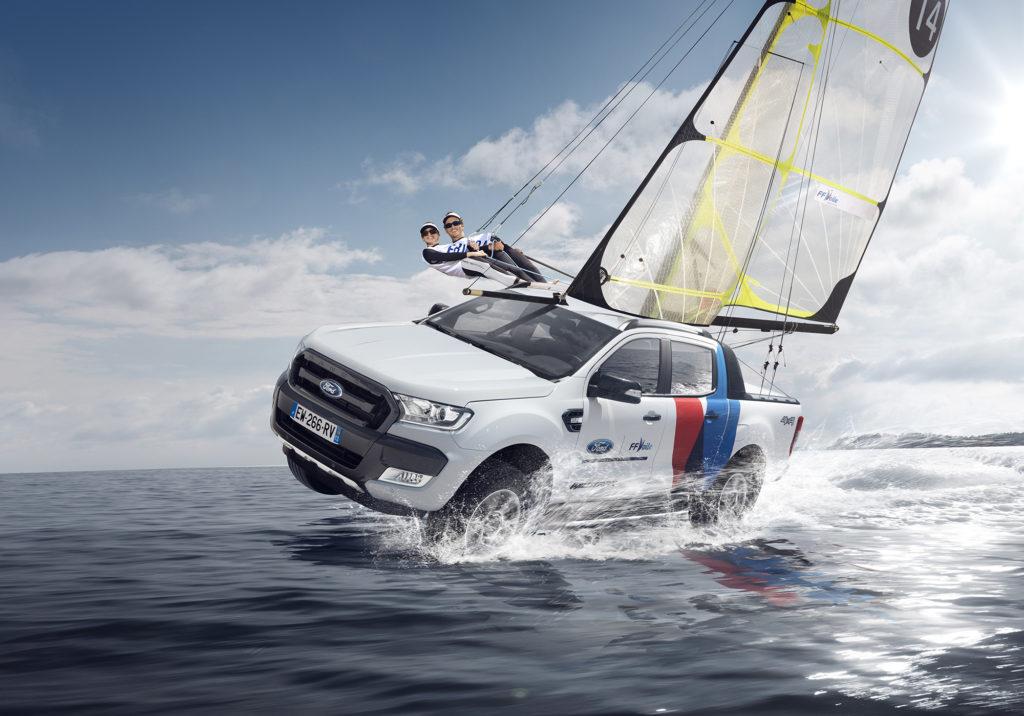 Ford partenaire de l'Equipe de France de Voile