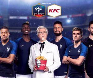 KFC renouvelle son partenariat avec la FFF jusqu'en 2023