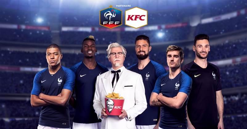 KFC resigne avec la FFF jusqu'en 2023