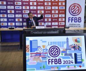 Comment la Fédération Française de Basket compte poursuivre son développement à l'aube de Paris 2024