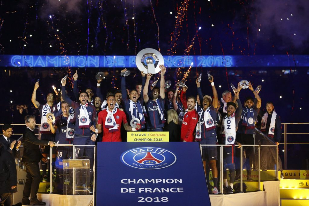 Le PSG champion des droits TV de Ligue 1