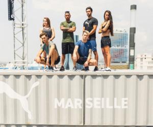 Puma dévoile sa nouvelle chaussure de training à Marseille en présence de Lewis Hamilton
