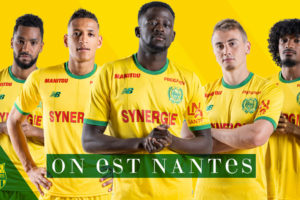 Maillot domicile FC Nantees