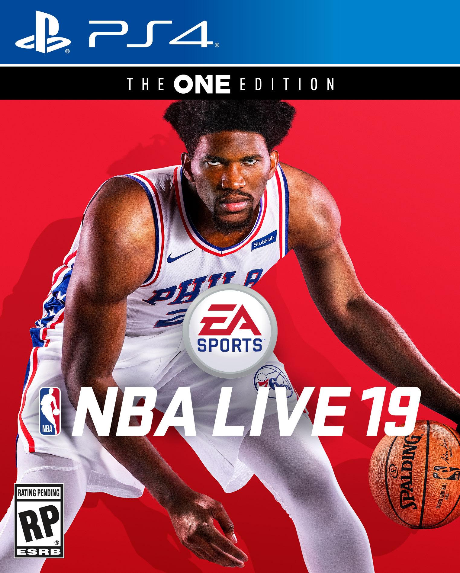 NBA Live Joël Embiid cover