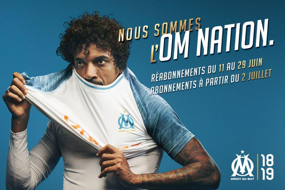 Maillot THIRD Olympique de Marseille Luiz GUSTAVO
