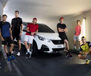 Pouille, Del Potro, Zverev… dans la nouvelle publicité Peugeot à l'occasion de Roland-Garros
