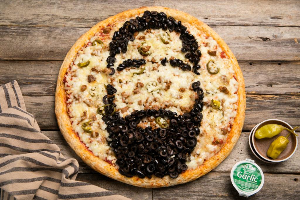 Papa John's pizza James Harden