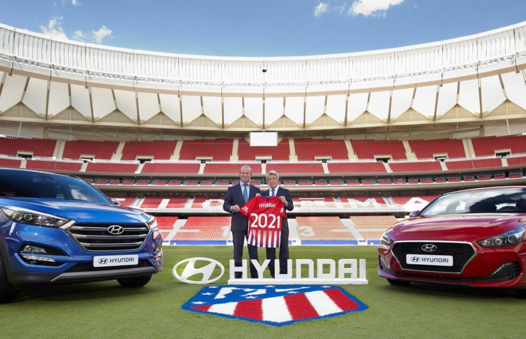 Partenariat Hyundai-Atlético de Madrid