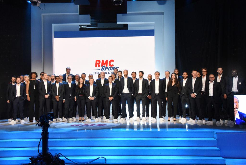 Photo de famille RMC Sport