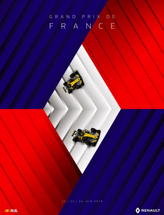 Poster Renault dans L'Equipe