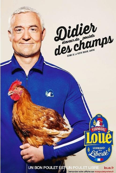 Pub Loué Didier Deschamps